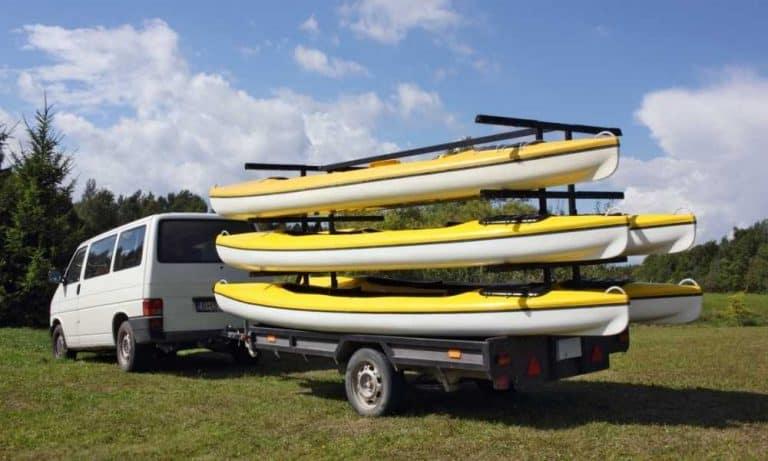 Transporting your kayak
