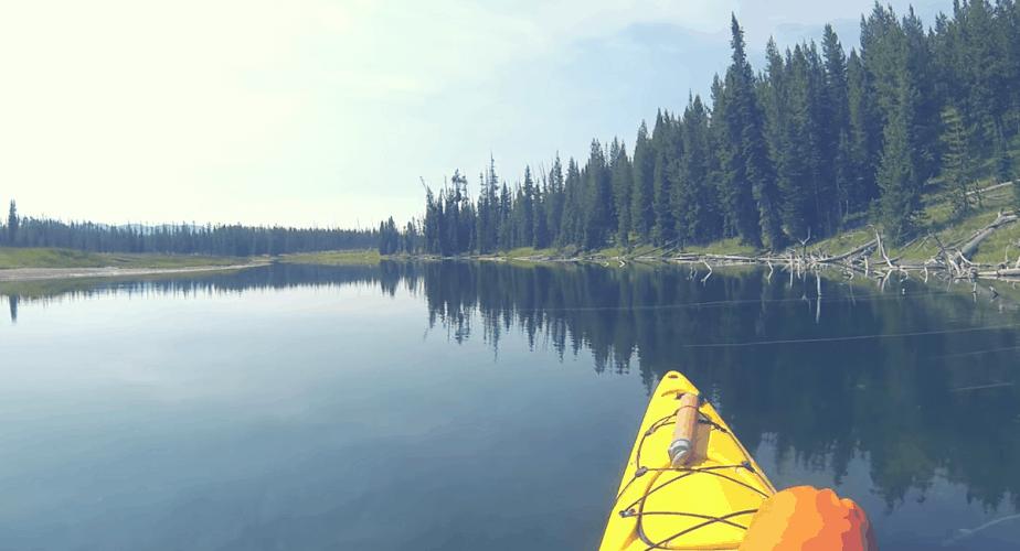 yellowstone kayaking trip