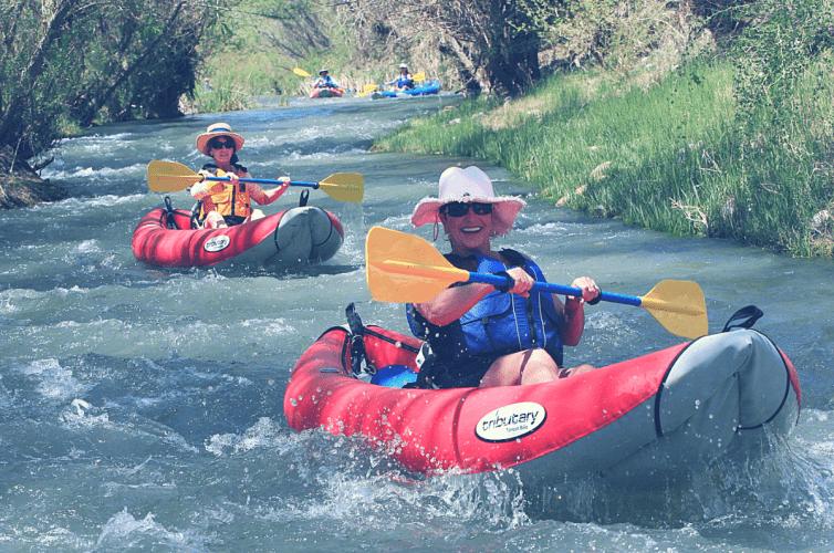 sedona verde river kayakers