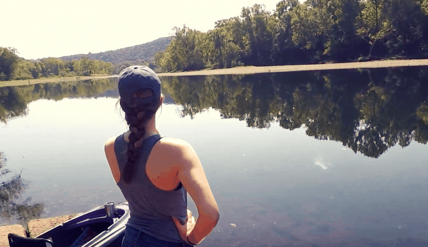 kayaking lake taneycomo branson, mo